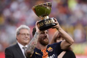 Lionel Messi Joan Gamper Trophy