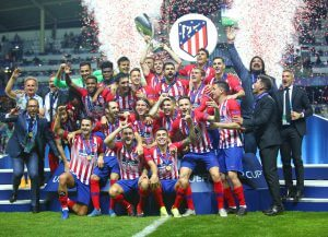 Atletico Madrid win UEFA Super Cup
