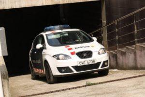 Mossos squad car