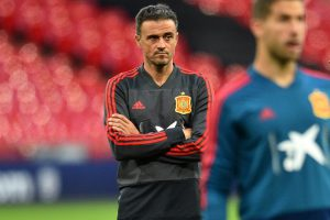 Spain coach Luis Enrique