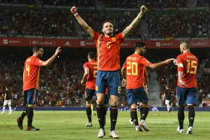 Spain beat Croatia 6-0