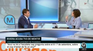 Albert Rivera on TV3