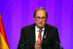 Quim Torra, Catalan president