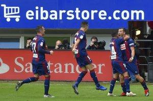 Eibar celebrate