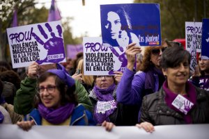 Violence against women march