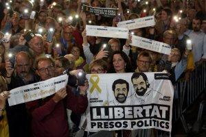 Political prisoners protest