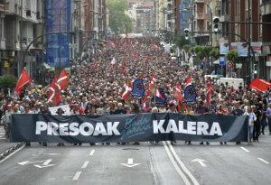 ETA prisoners march