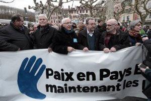 ETA prisoners protest