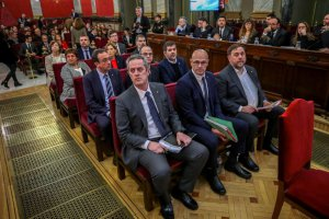 Catalan leaders on trial