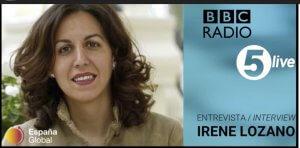 Irene Lozano BBC
