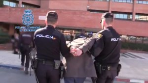 Madrid man arrested