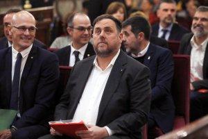 Oriol Junqueras 'political prisoner'