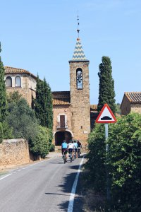 Cycling in northeast Catalonia