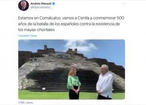 Mexican president tweet