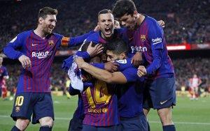 Barça celebrate