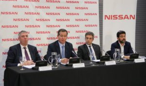 Nissan press conference