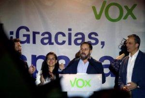 Vox leader Santiago Abascal