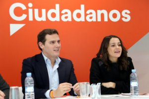 Albert Rivera and Ines Arrimadas