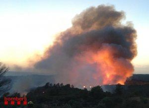 Catalonia fire