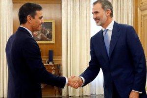 Pedro Sánchez and Felipe VI