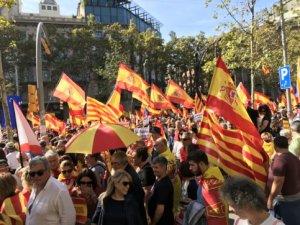 Protest in Catalonia - 'Enough!'