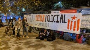 Police violence protest