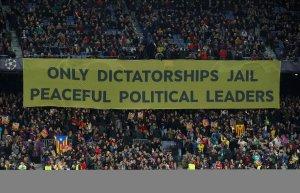 Camp Nou banner
