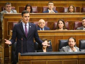 Pedro Sánchez and Pablo Iglesias